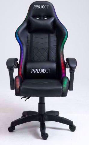 כיסא גיימינג    ProJect Delta RGB שחור