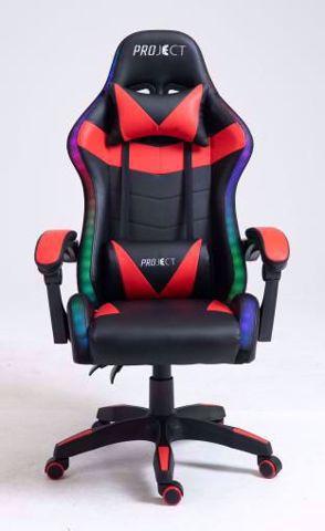 כיסא גיימינג    ProJect Delta RGB שחור/אדום