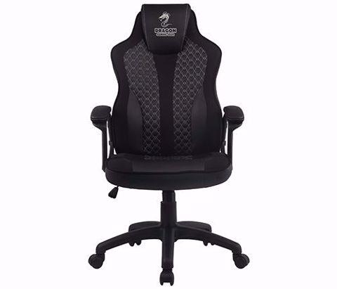 כסא גיימינג דגם Dragon SNIPER שחור / כסוף