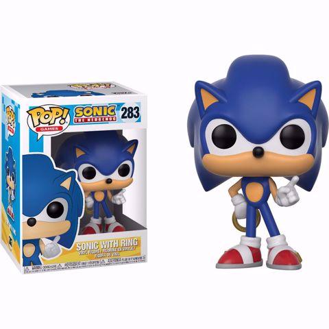 Funko Pop - Sonic With Ring  (Sonic) 283 בובת פופ סוניק