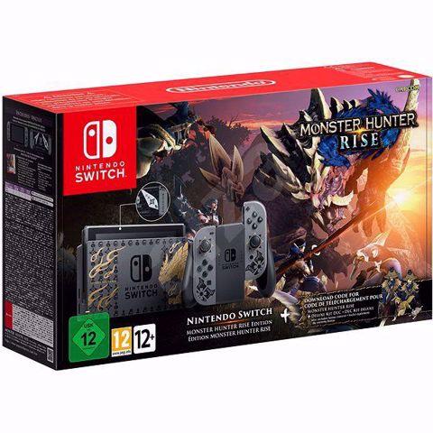 נינטנדו סוויץ' במהדורה מיוחדת וקוד למשחק Monster Hunter Rise