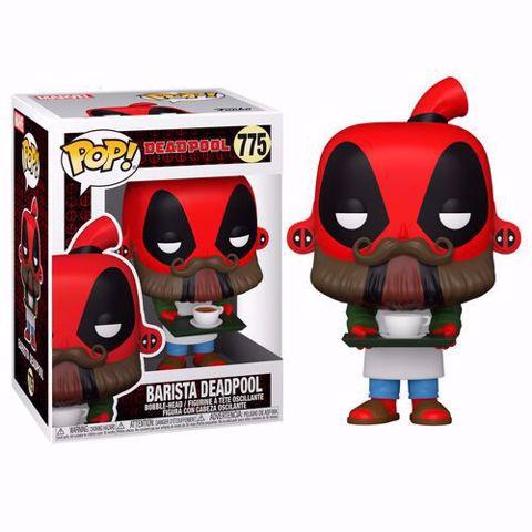 Funko Pop - Barista Deadpool (Deadpool) 775 בובת פופ דדפול