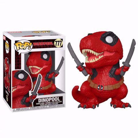 Funko Pop - Dinopool (Deadpool) 777 בובת פופ דדפול