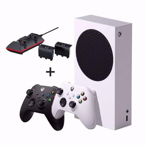 Xbox Series S אקסבוקס סדרה אס כולל שלט נוסף ועמת טעינה כפולה