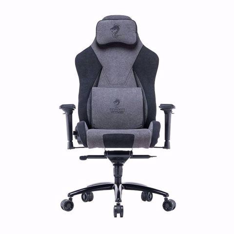 כסא גיימינג/עבודה  Dragon BLACK MAMBA דגם בד