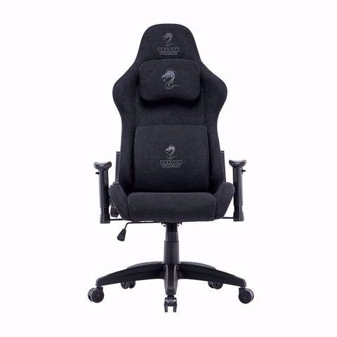 כסא גיימינג/עבודה  Dragon Cyber שחור