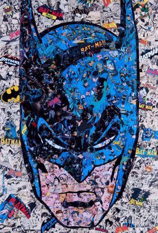 פוסטר קנבס באטמן Canvas  Batman