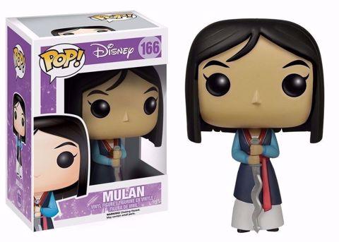 Funko Pop - Mulan (Disney) 166 בובת פופ מולאן