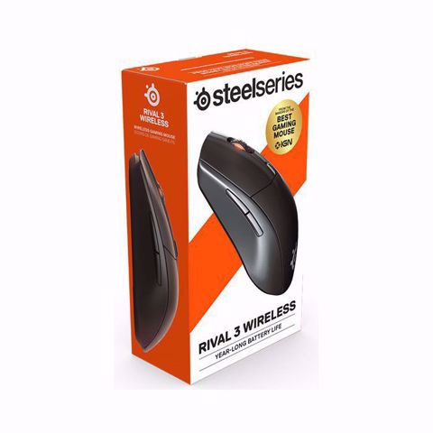 עכבר גיימינג אלחוטי  Steelseries RIval 3 Wireless