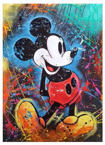 פוסטר קנבס מיקי מאוס Mickey Mouse Canvas