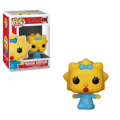 Funko Pop - Maggie Simpson (The Simpsons) 498 בובת פופ משפחת סימפסון