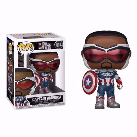 Funko Pop - Captain America (Falcon And the Winter Solider) 814 בובת פופ הפלקון וחייל החורף