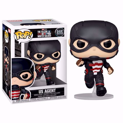 Funko Pop - US Agent (Falcon And the Winter Solider) 815 בובת פופ הפלקון וחייל החורף
