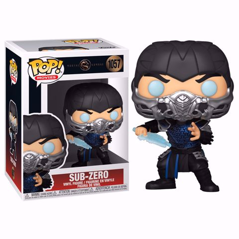 Funko Pop - Sub Zero (Mortal Kombat) 1057 בובת פופ מורטל קומבט
