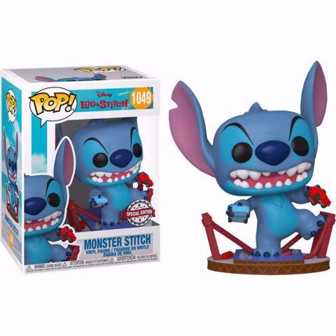Funko Pop - Monster Stitch SE (Lilo & Stitch) 1049 בובת פופ סטיץ'