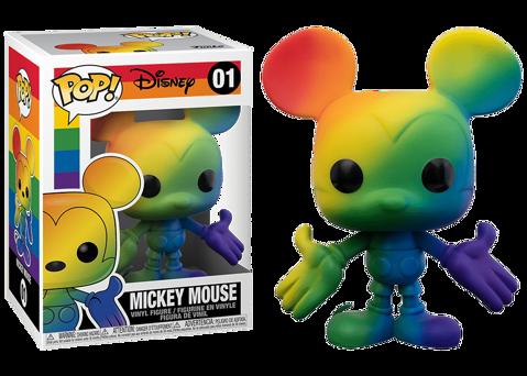 Funko Pop - Rainbow Mickey (Disney) 01 בובת פופ מיקי מאוס
