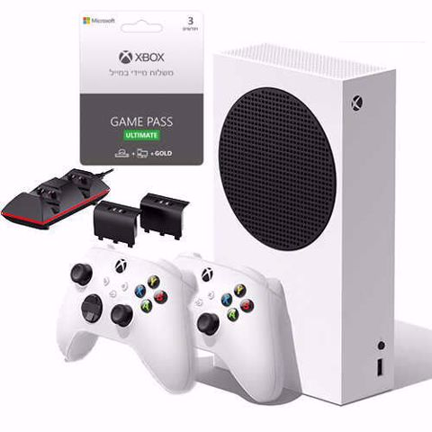 XSS   Xbox Series S Bundle   חבילת פאן פה אקסבוקס סירייס אס