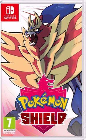Pokemon Shield Nintendo Switch פוקימון מגן