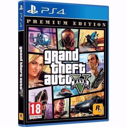 Grand Theft Auto GTA V Premium Edition PS4