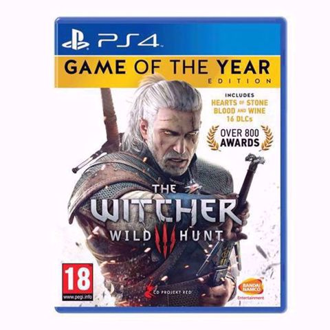 The Witcher 3 GOTY Edition PS4