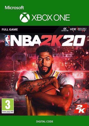 NBA 2K20 Digital Download Xbox one