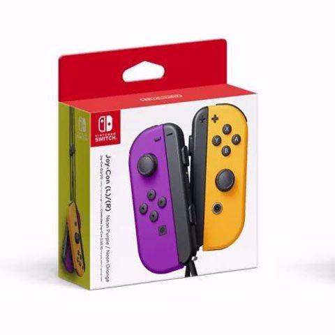 Nintendo Switch Joy-Con Pair Purple & Orange