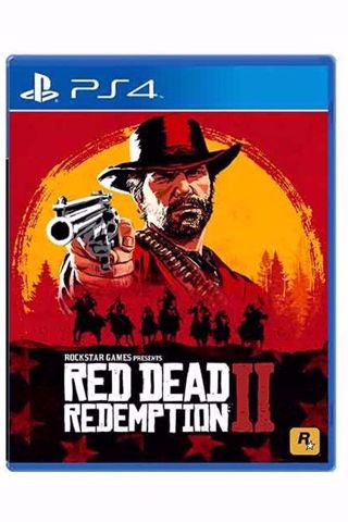 Red Dead Redemption RDR 2 PS4