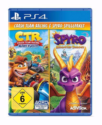 Spyro the Dragon Reignited Trilogy  + Crash Team Racing PS4