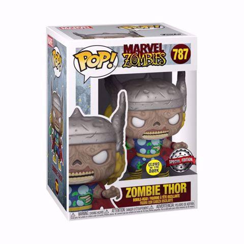בובות פופ | ת'ור | Funko Pop - Zombie Thor  GITD SE (Marvel) 787