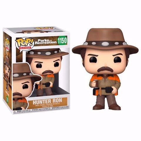 בובות פופ   רון   Funko Pop - Hunter Ron (Parks And Recreation) 1150