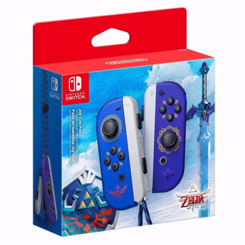 שלטים לנינטנדו סוויץ | זלדה | Joy-Con Pair Zelda Skyward Sword