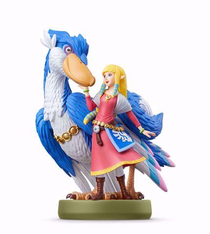 אמיבו   זלדה   Amiibo Zelda & Loftwing