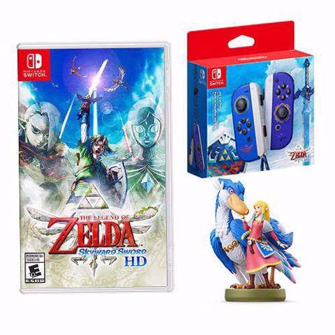 Zelda Skyward Sword HD Launch Bundle מארז הזמנה מוקדמת