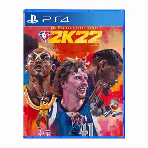 משחק לסוני 4   אן בי איי   NBA 2K22 Standart 75Th Anniversary  PS4