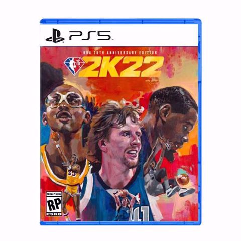 משחק לסוני 5   אן בי איי   NBA 2K22 Standart 75Th Anniversary  PS5