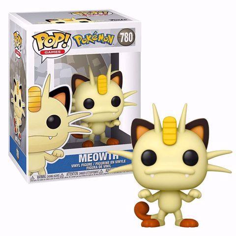 בובות פופ | פוקימון | Funko Pop - Meowth (Pokemon) 780
