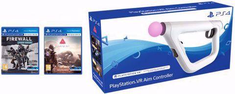 Playstation VR Aim Controller Bundle רובה למציאות מדומה כולל 2 משחקים !