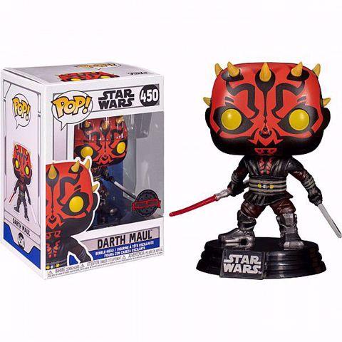 בובות פופ | מלחמת הוככבים | Funko Pop - Darth Maul SE  (Star Wars) 450