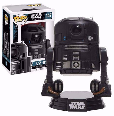 בובת פופ   מלחמת הכוכבים   Funko Pop -  C2-B5 (Star Wars)  147 בובת פופ מלחמת הכוכבים