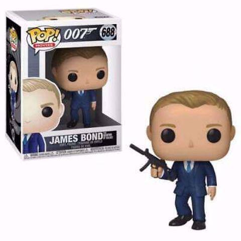 בובת פופ | ג'יימס בונד | Funko Pop -  James Bond (007)  688