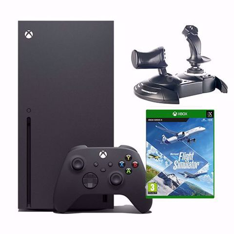 Xbox Series X Bundle   אקסבוקס סרייס איקס חבילת פלייט סימולטור