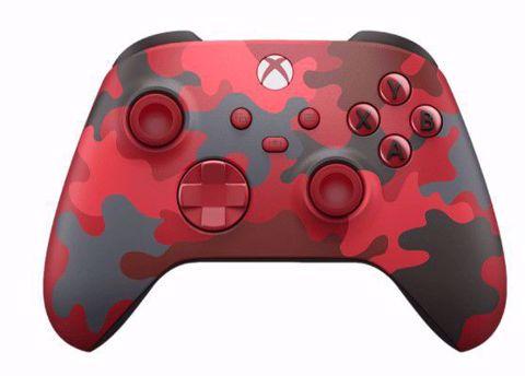 Xbox Series X/S Wireless Controller Daystrike Camo שלט אלחוטי לאקסבוקס סרייס אדום הסוואה