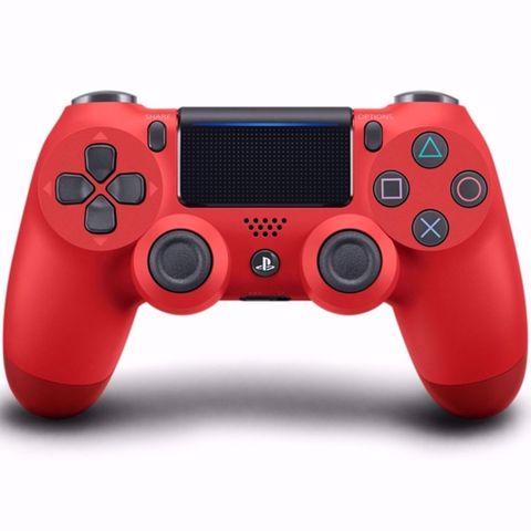 Dualshock 4 V2 Red PS4 לפלייסטיישן 4 אדום