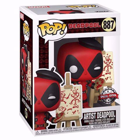 בובת פופ | דדפול | Funko Pop - Artist Deadpool SE (Deadpool) 887