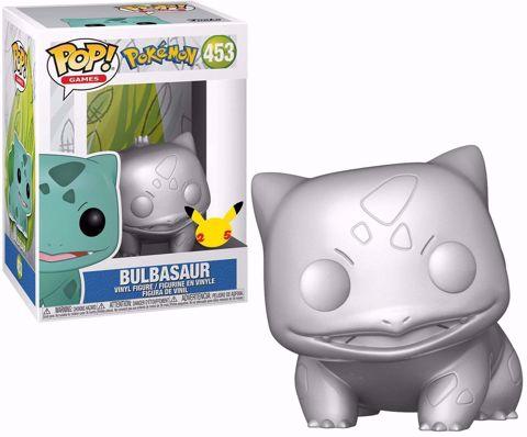 בובת פופ | פוקימון | Funko Pop - Bulbasaur Silver 25TH  (Pokemon) 453