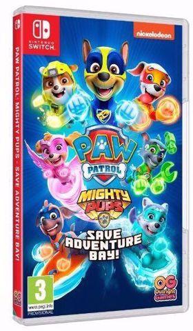 משחק לנינטנדו סוויץ | מפרץ ההרפתקאות | PAW Patrol Mighty Pups Save Adventure Bay Switch