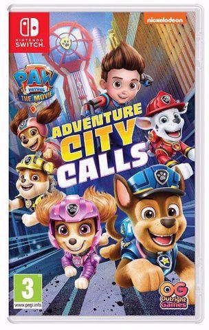 משחק לנינטנדו סוויץ | מפרץ ההרפתקאות | PAW Patrol Adventure City Calls Switch