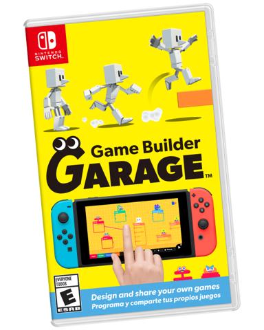 משחק לנינטנדו סוויץ   Game Builder Garage Nintendo Switch