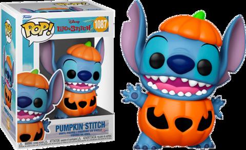 בובת פופ | סטיץ' | דיסני | Funko Pop- Pumpkin Stitch SE (Lilo & Stitch) 1087